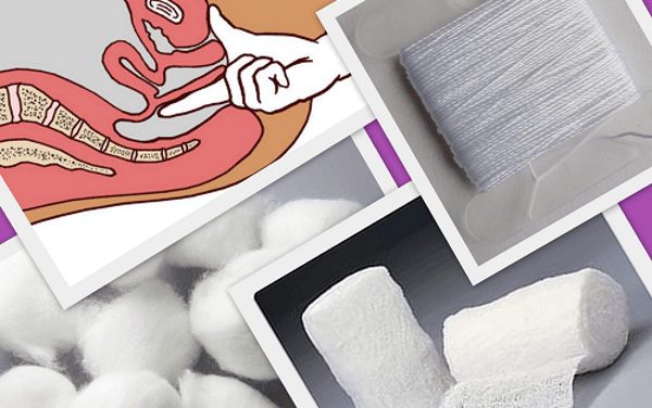 Как сделать тампон в домашних условиях гинекология