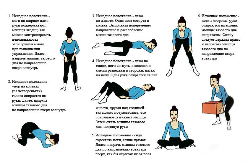 лфк при геморрое комплекс упражнений