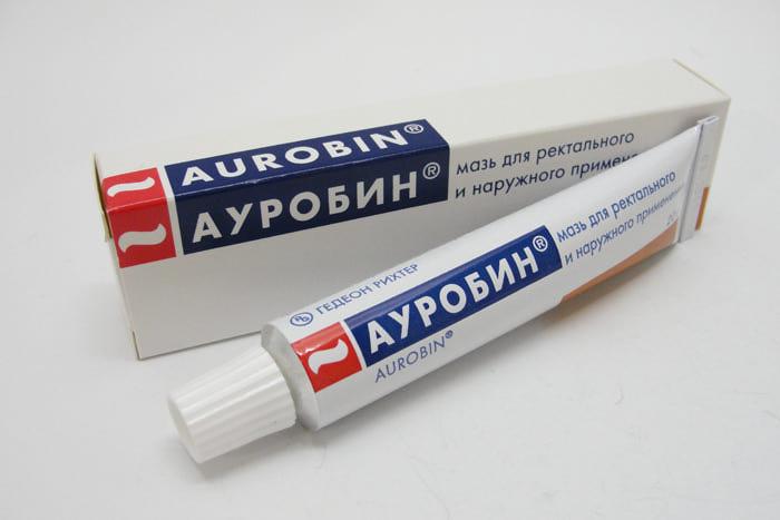 Мазь от геморроя Ауробин инструкция по применению