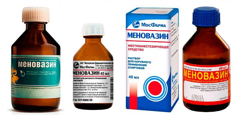Лечение геморроя Меновазином: отзывы о применении