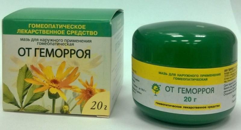 Гомеопатические свечи и мази от геморроя названия и описания препаратов